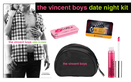 The Vincent Boys Date Night Prize Pack