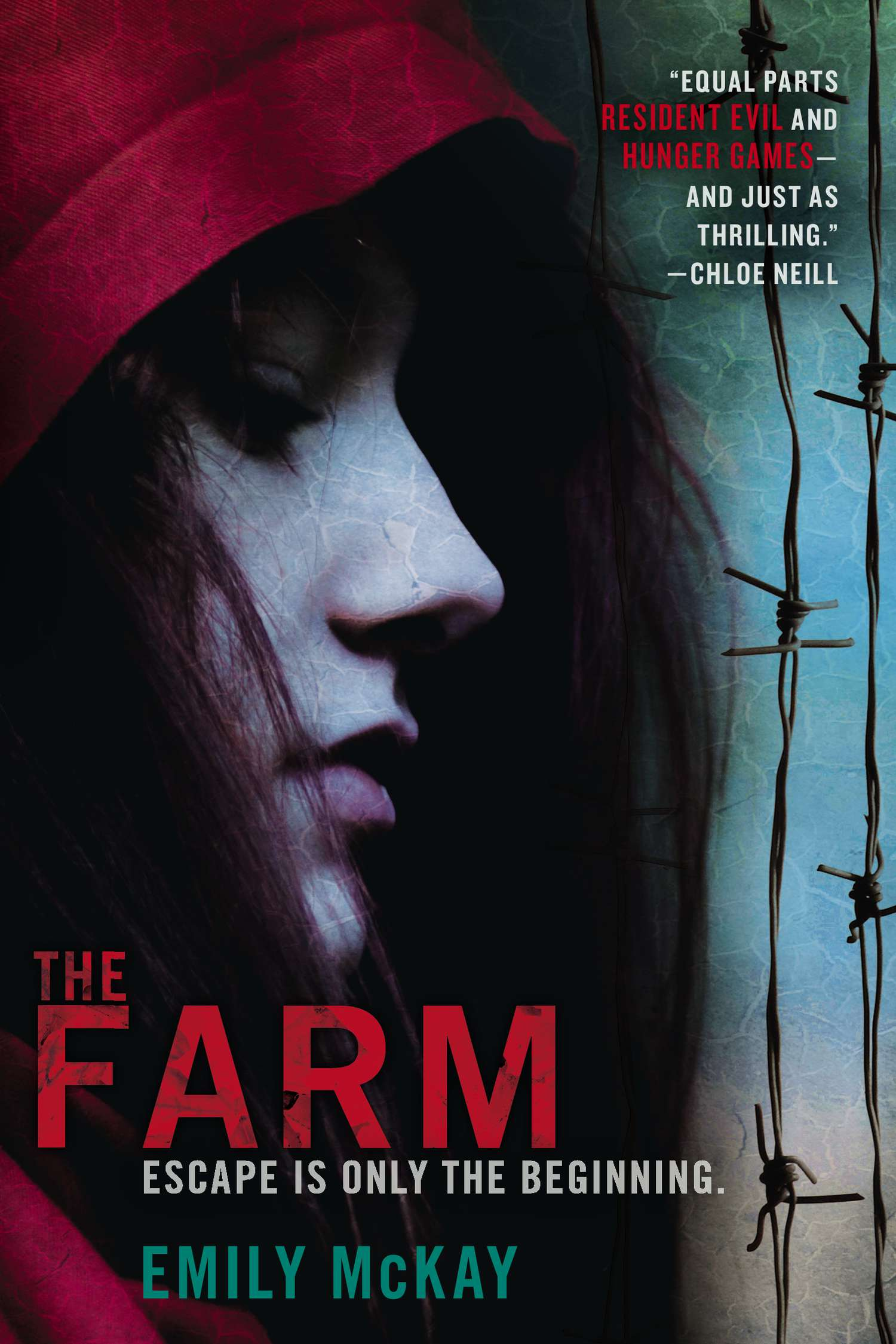 The Farm by Emily McKay book cover