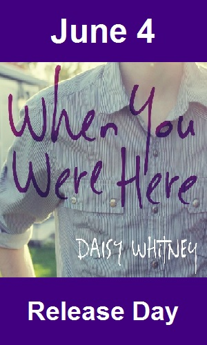 When You Were Here Release Day launch