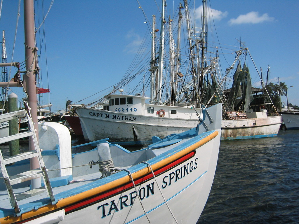 Tarpon Springs Florida boats