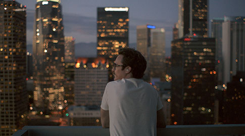 Joaquin Phoenix as Theodore in Her
