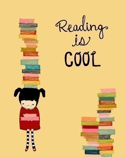 reading is cool book art