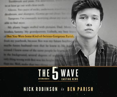 nick robinson as ben parish the 5th wave
