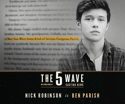 nick robinson as ben parish the 5th wave