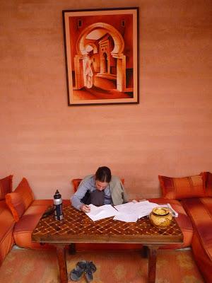 Tara Dairman author photo Morocco