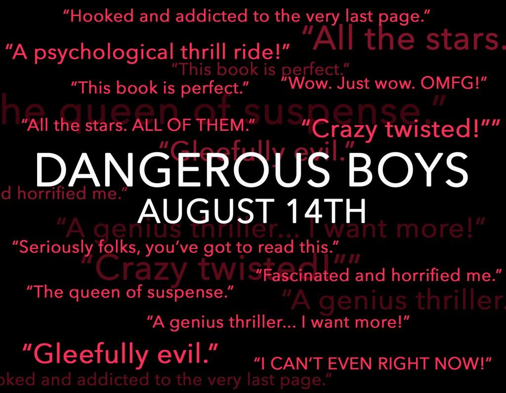 dangerous boys text teaser