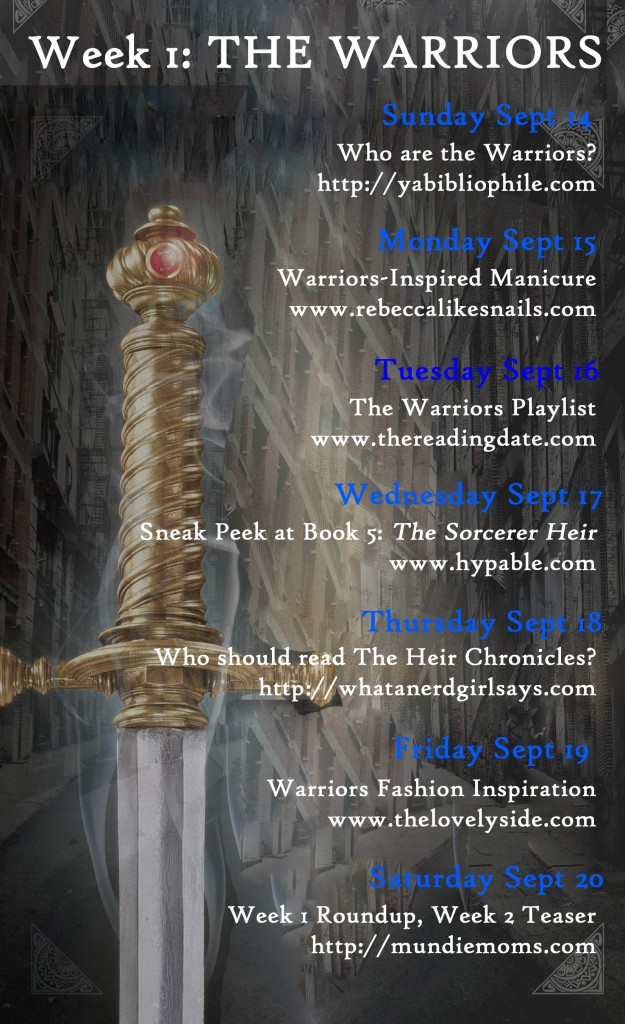World of Weir blog tour calendar week one