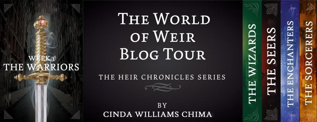 World of Weir blog tour