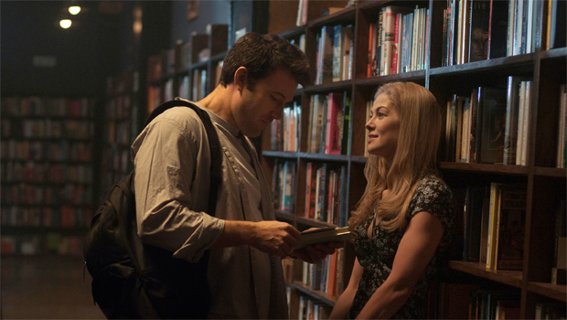 Gone Girl movie bookstore