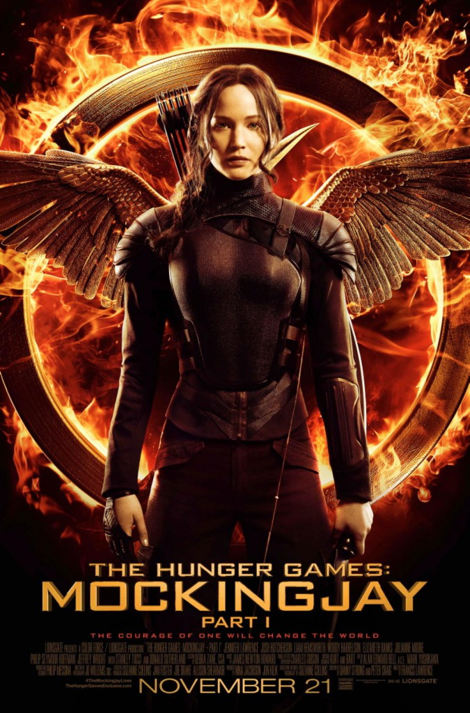 Mockingjay Part 1 movie poster Jennifer Lawrence