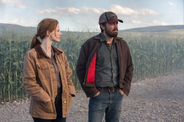 Jessica Chastain and Casey Affleck in Interstellar (Warner Bros.)