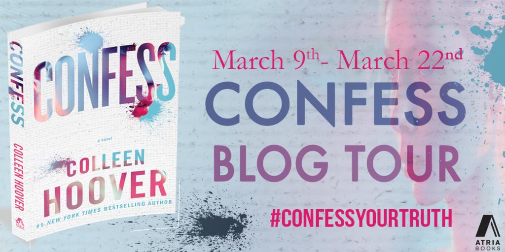 Confess blog tour banner