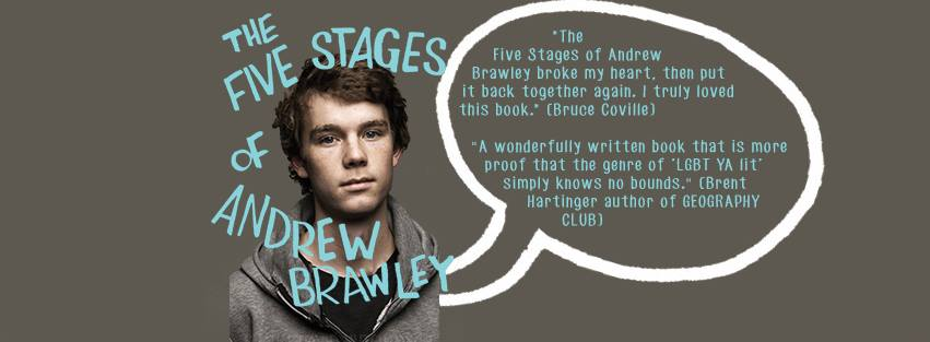 the five stages of andrew brawley blog tour banner