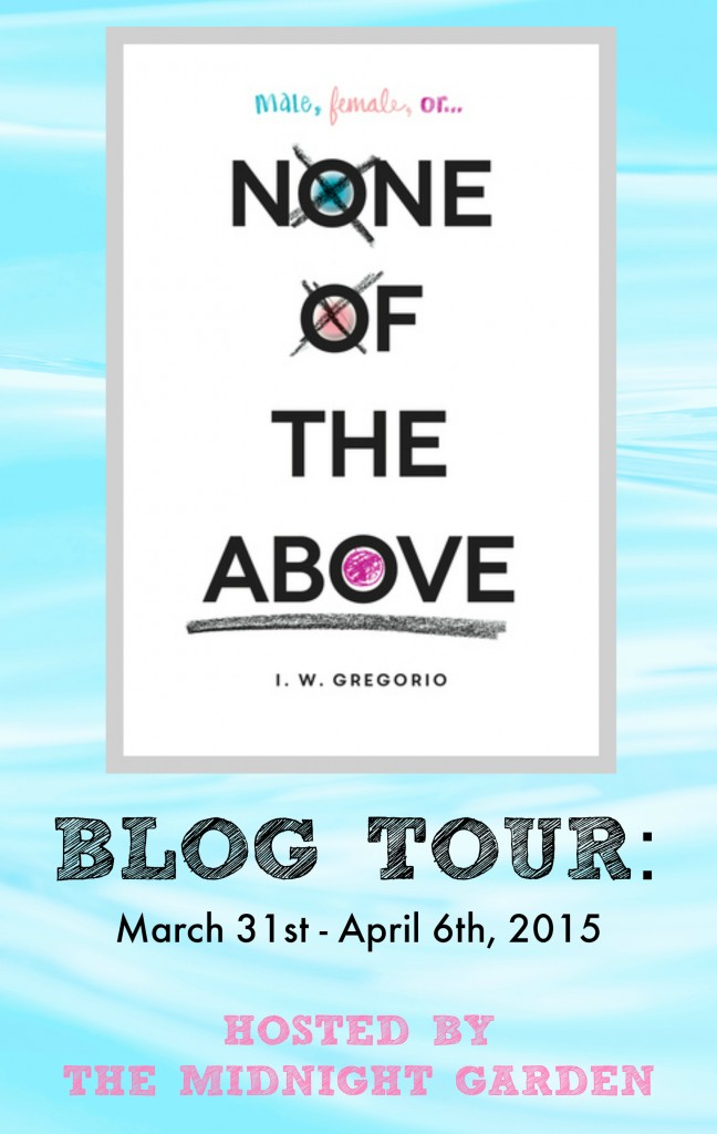 None of the above blog tour button