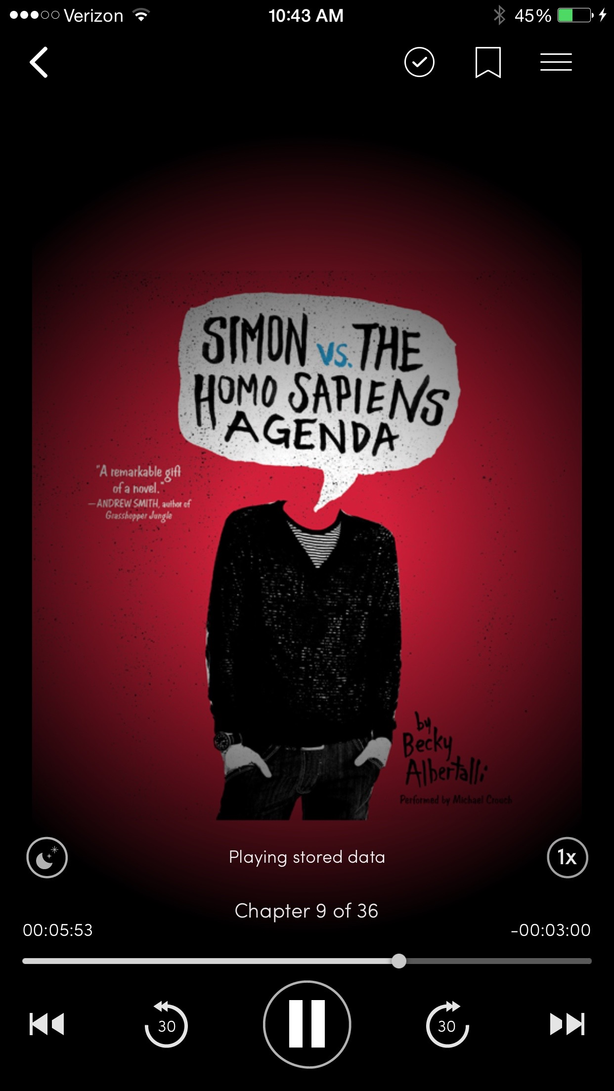 Simon audiobook