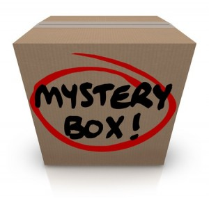 Mystery Box Recorded Books Giveaway