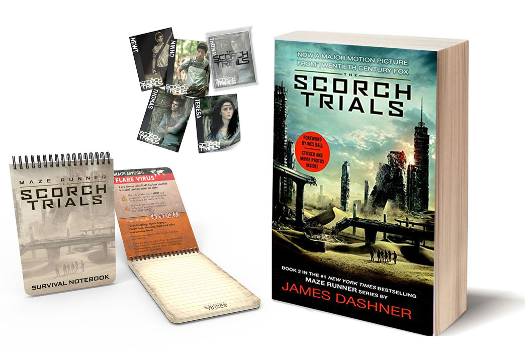 The Scorch Trials prize pack