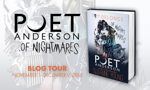 Spotlight and Giveaway: Poet Anderson...Of Nightmares