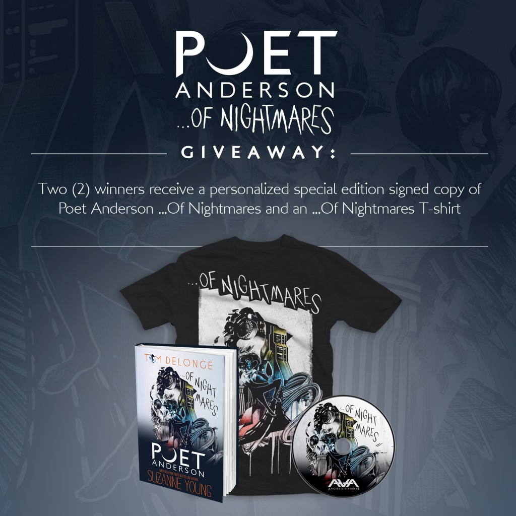 Poet Anderson...Of Nightmares Giveaway