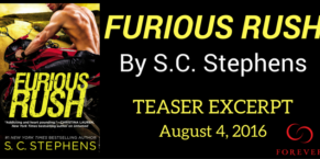 Furious Rush by S.C. Stephens – Excerpt and Giveaway