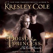 Poison Princess by Kresley Cole audiobook cover