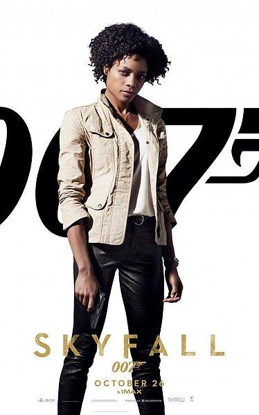 Skyfall Bond Girl Naomie Harris movie poster
