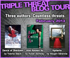 Triple Threat Blog Tour Also Known As