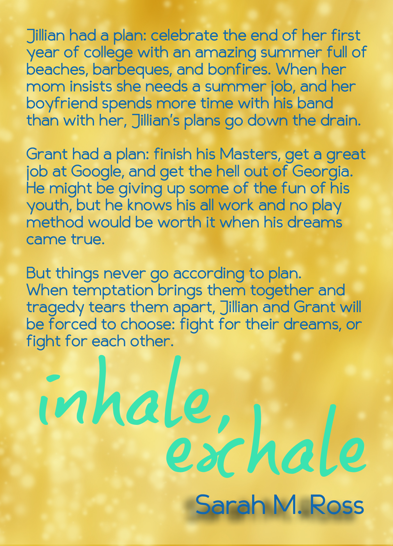 Inhale, Exhale synopsis