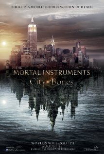 The Mortal Instruments City of Bones movie poster