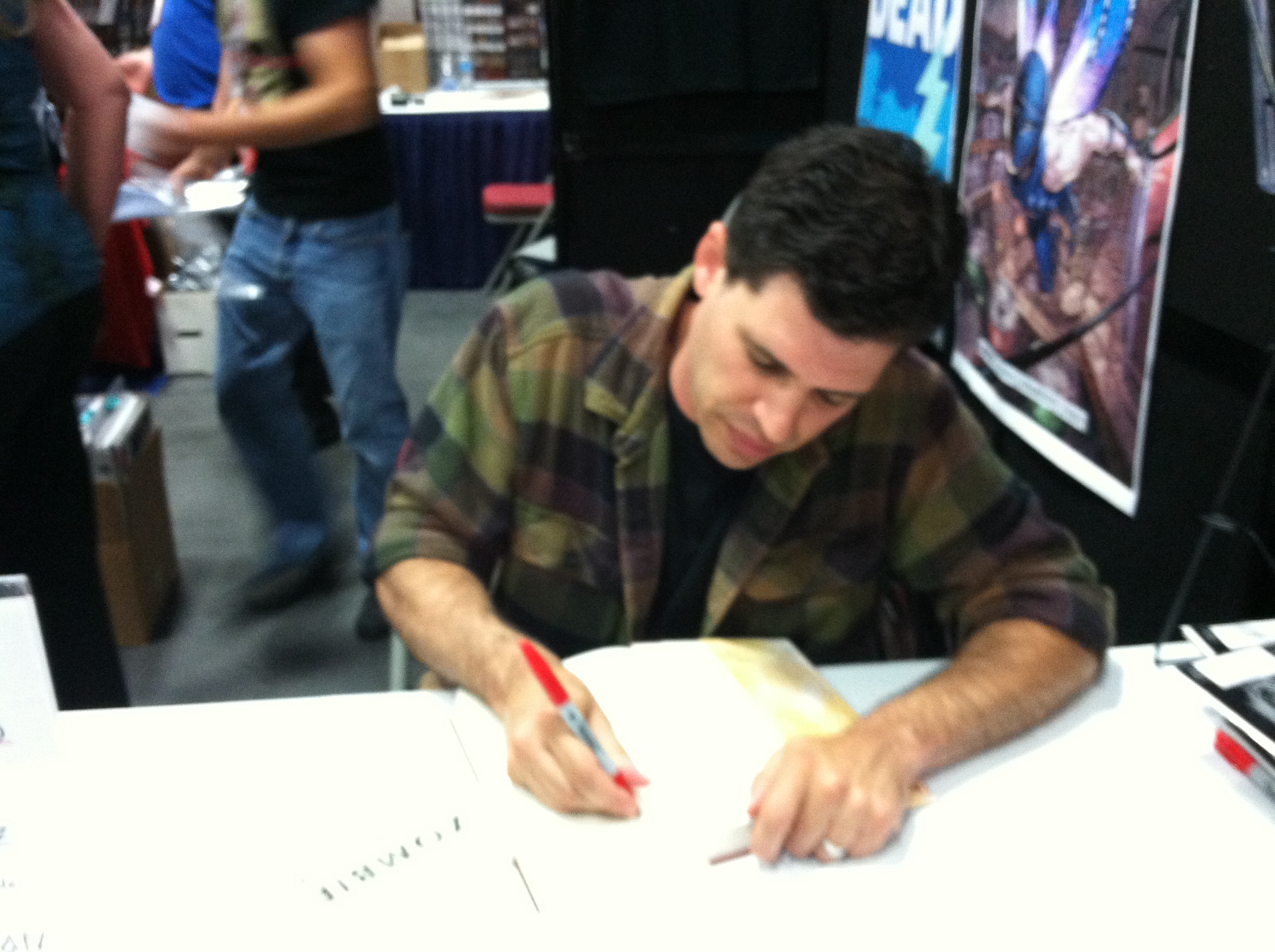 Max Brooks SDCC