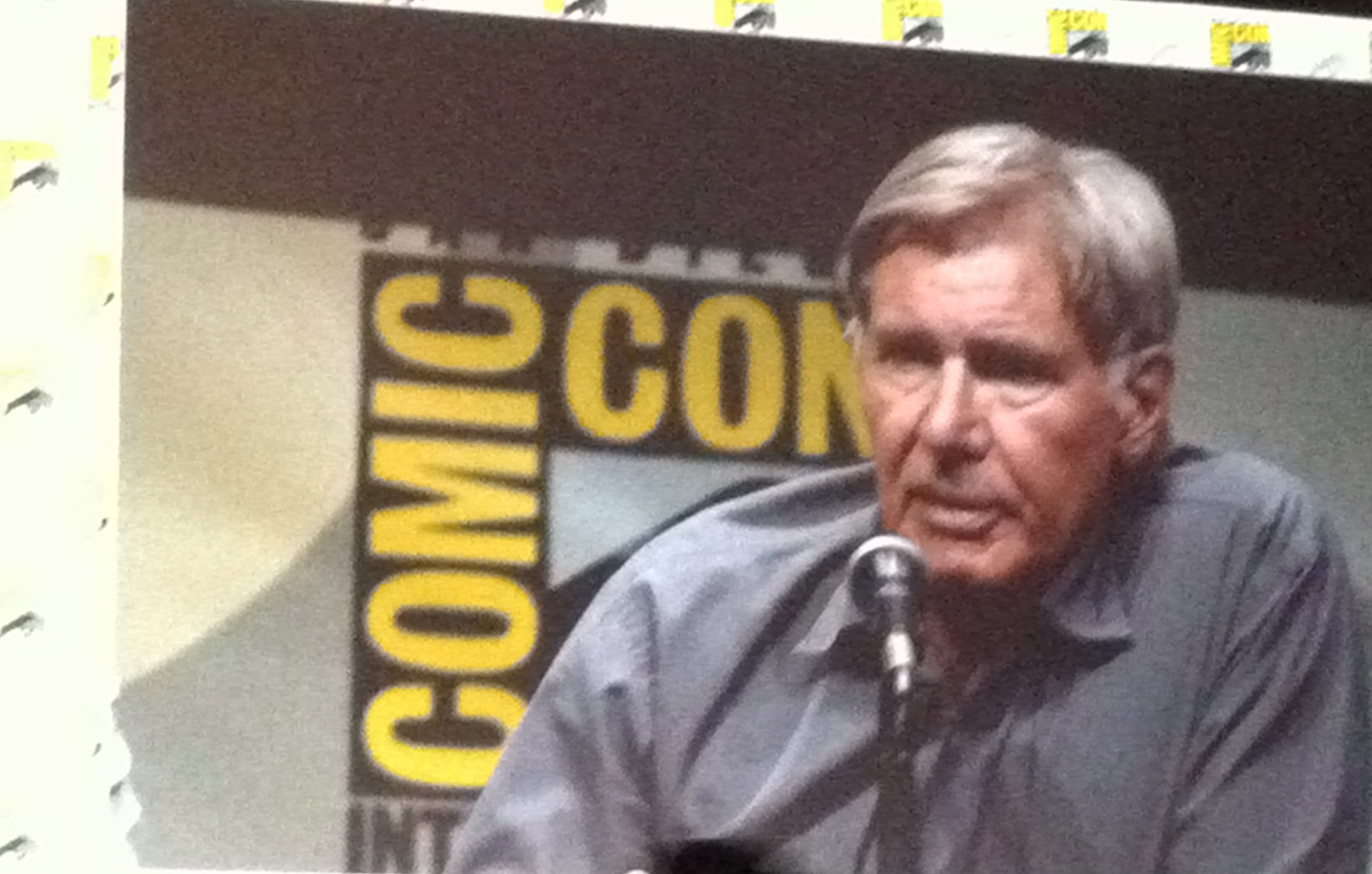 Harrison Ford Ender's Game SDCC