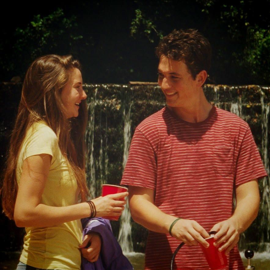 Shailene and Miles Teller The Spectacular Now