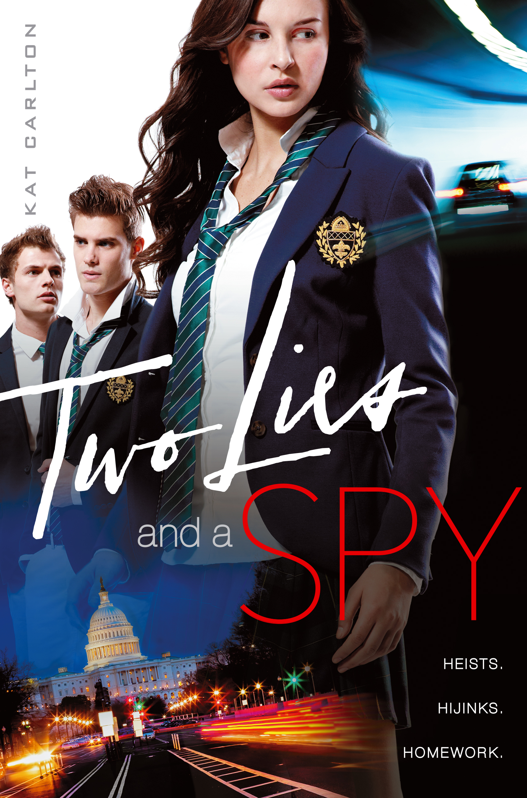 Two Lies and a Spy book cover