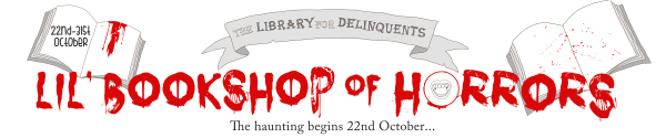 Lil Bookshop of Horrors banner