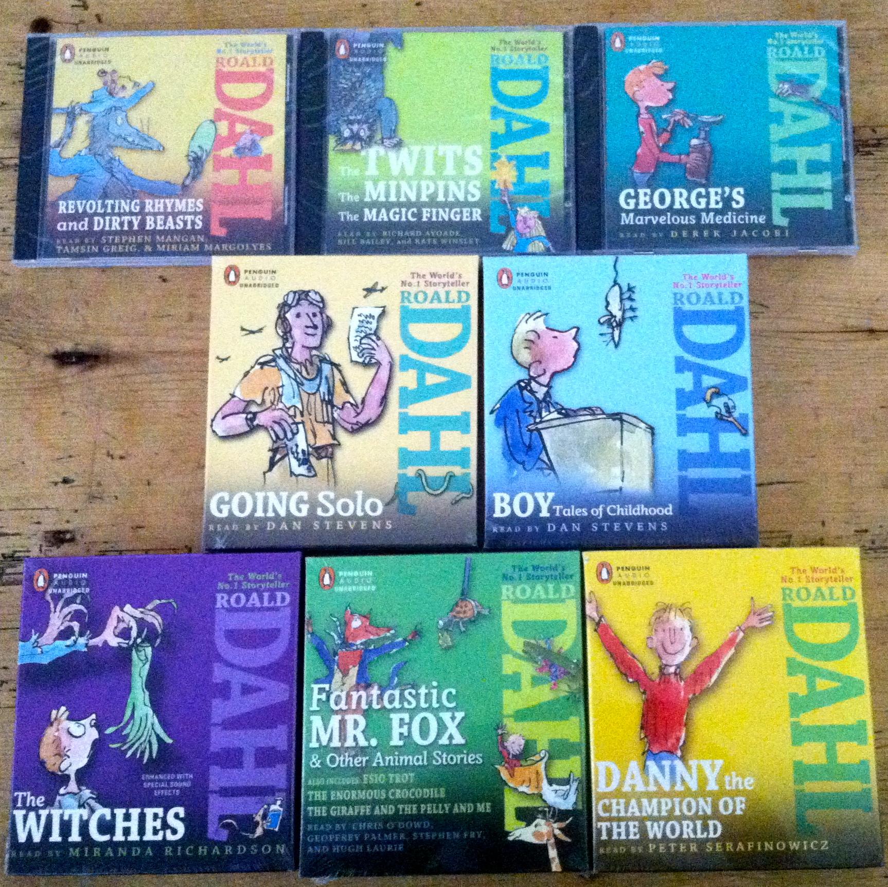 Roald Dahl audiobook giveaway