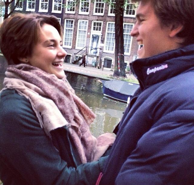 Shailene Woodley and Ansel Elgort The Fault in Our Stars