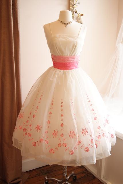 1962 vintage dress