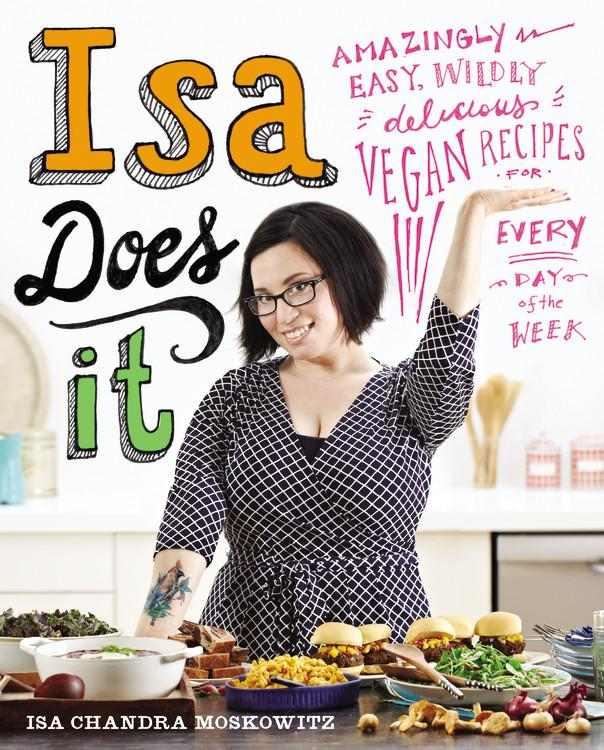 Isa Does It vegan cookbook