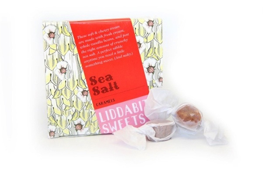 Liddabit sea salt caramels