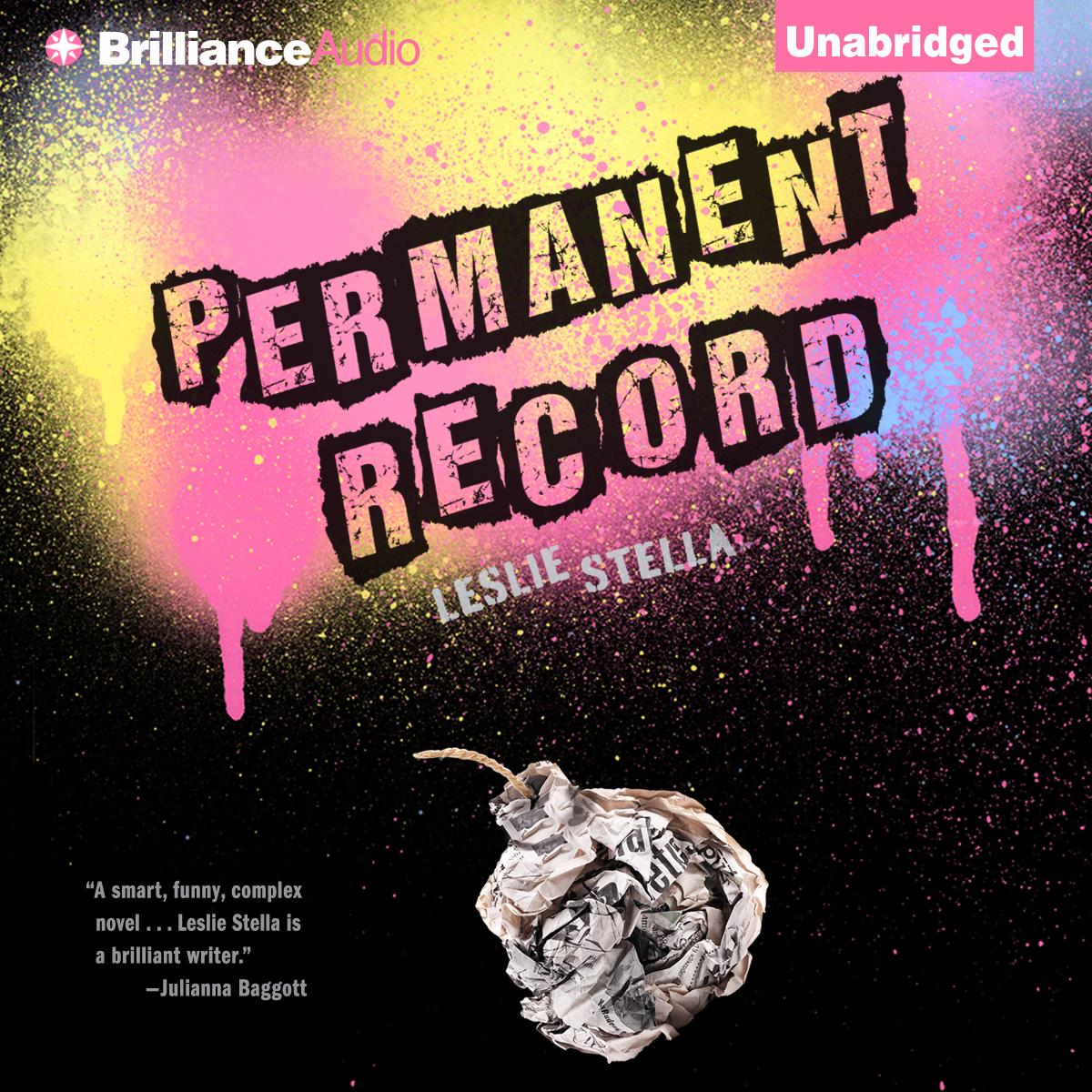 Permanent Record audiobook Leslie Stella