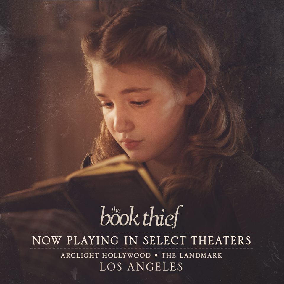 The Book Thief opened November 8 in 4 theaters in Los Angeles and New York, and will expand to more theaters soon. Check the official movie site to find out ... - the-book-thief-los-angeles