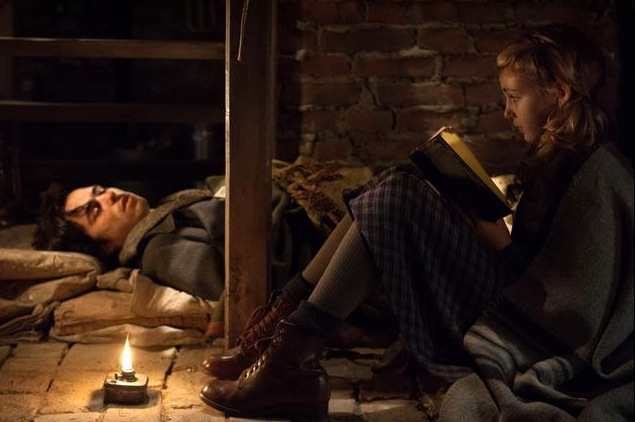 The Book Thief movie Liesel and Max
