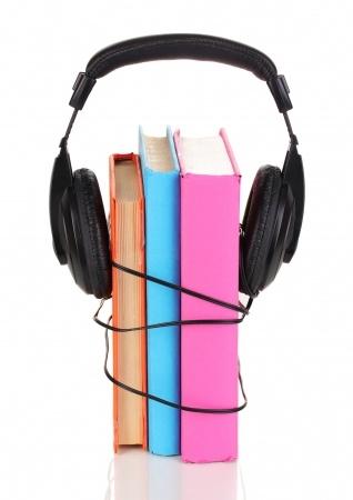 audiobooks white background