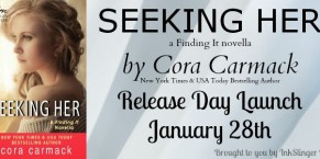 Seeking Her by Cora Carmack Review, Excerpt and Giveaway