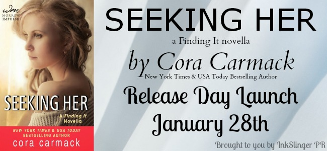 Seeking Her blog tour banner