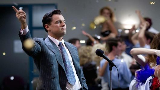 The Wolf of Wall Street office party