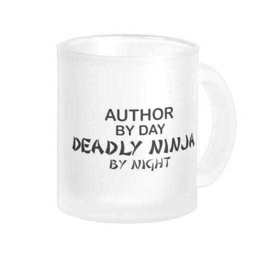 author ninja mug