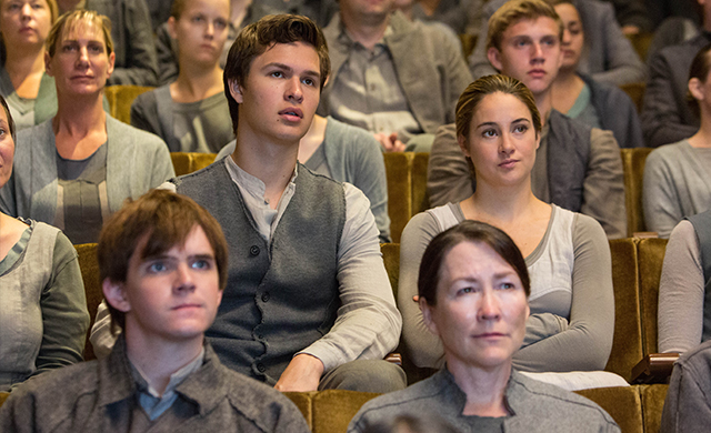 Tris and Caleb - Abnegation