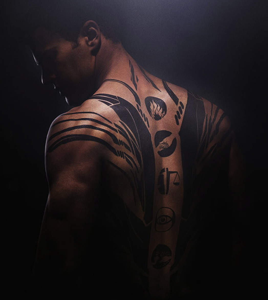 divergent theo james as four