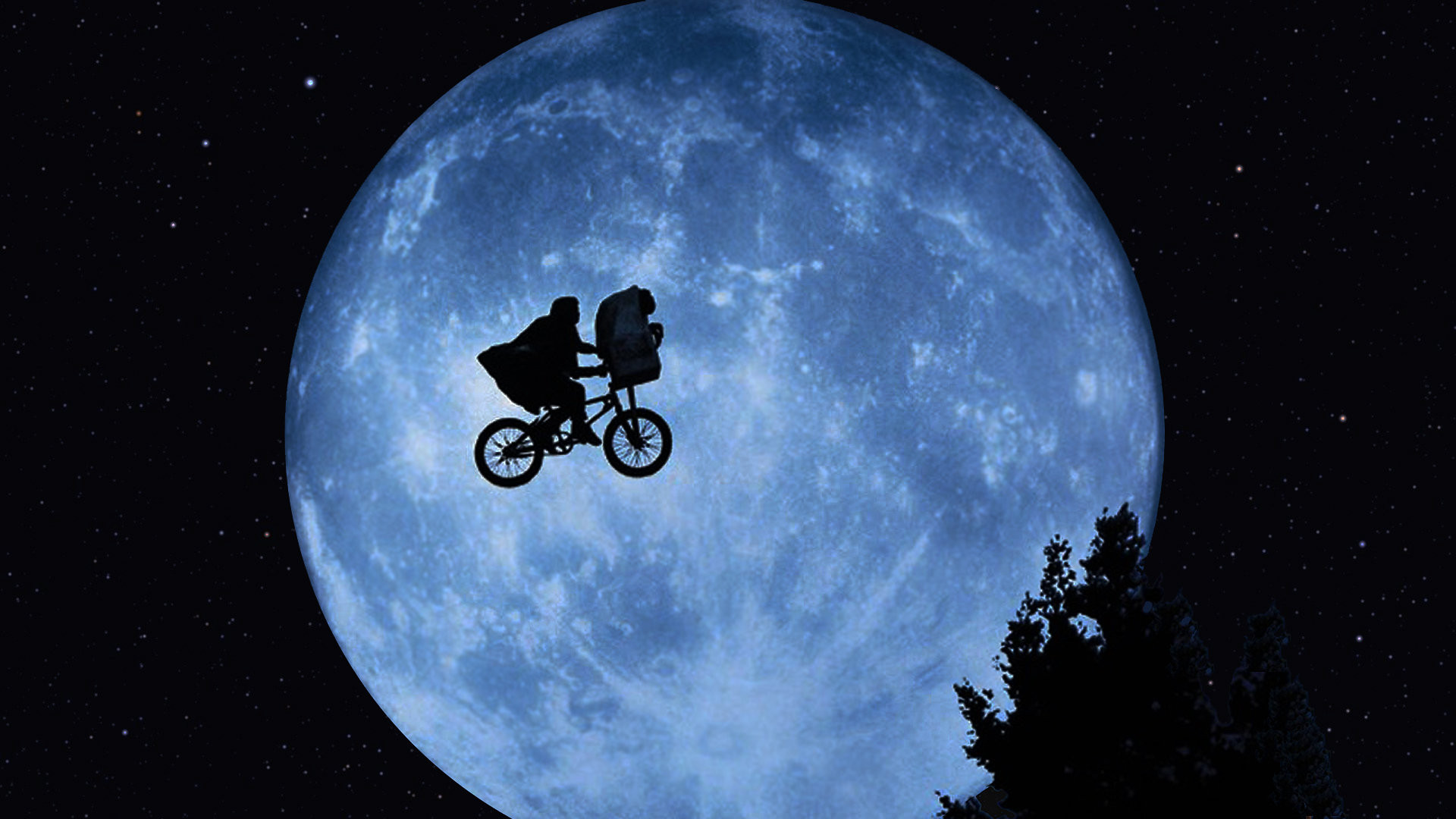 I want to see this scene in E.T. the Broadway musical!